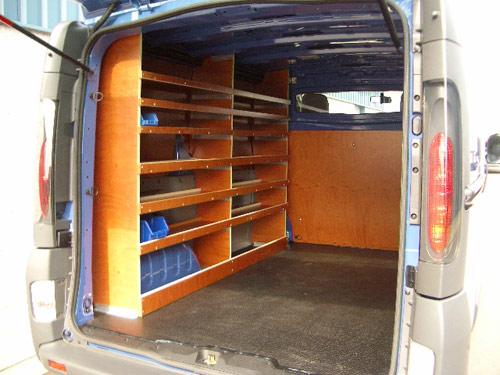 inrichting bestelwagen 7 med all construct